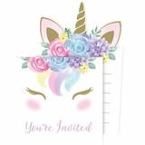Unicorn Baby Shower Invitations