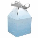 Blue/Silver Celebration Baby Shower Favor Boxes