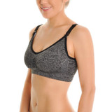 Seamless Nursing Bras with Mesh Detail
