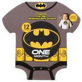 Batman First Year Milestone Belly Stickers