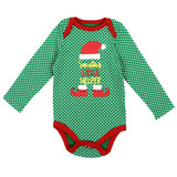Unisex Newborn Holiday Creeper - Elf