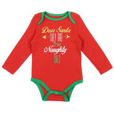 Unisex Newborn Holiday Creeper - Dear Santa