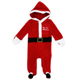 Unisex Newborn Plush Holiday Coverall