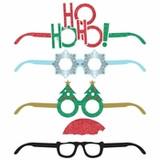 Christmas Deluxe Paper Eyeglasses