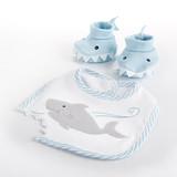 Shark Baby Gift Set Bundle - Boy