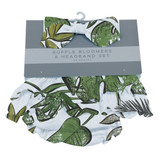 Jurassic Forest Ruffle Bloomers and Headband Set 0-6 months and 6-12 months available  Dino Days Collection  100% cotton
