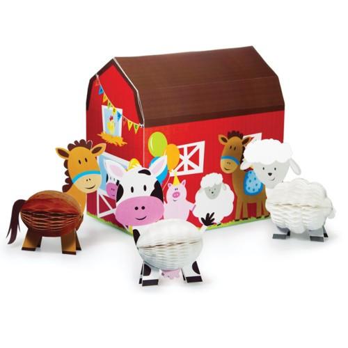 Farmhouse Fun 3D Barn Centerpiece