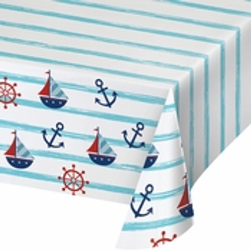 Nautical Paper Tablecloth