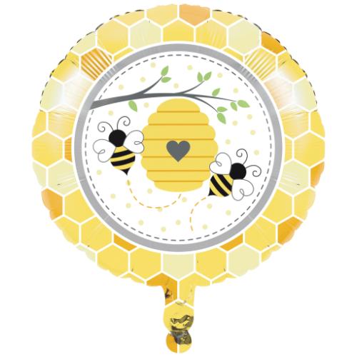 Bumblebee Baby Shower Mylar Balloon