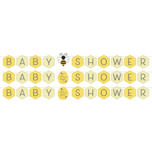 Bumblebee Baby Shower  Banner