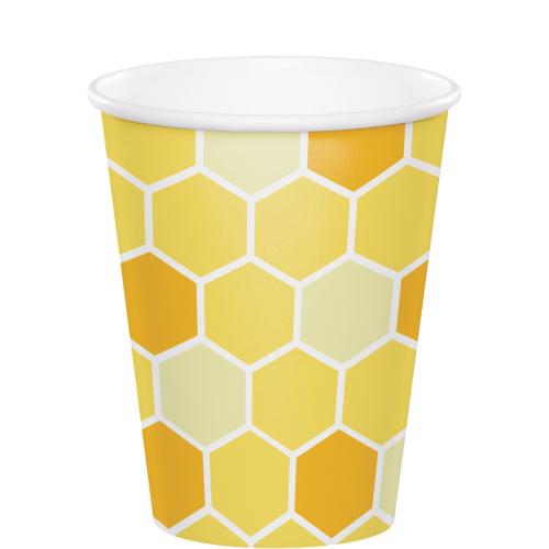 Bumblebee Baby Shower Cups - 9oz