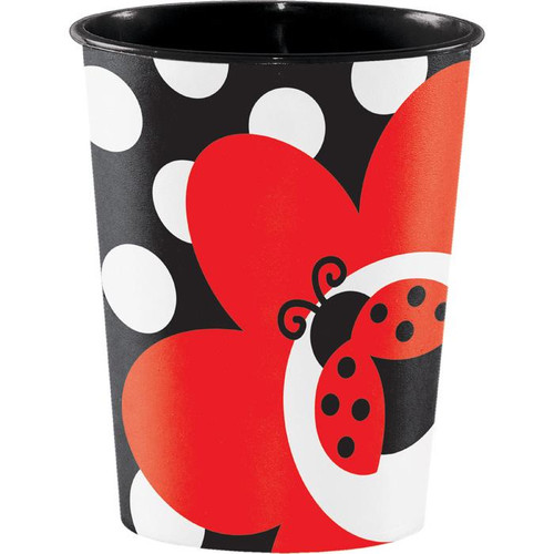 Ladybug Fancy  Keepsake Cup - 16oz