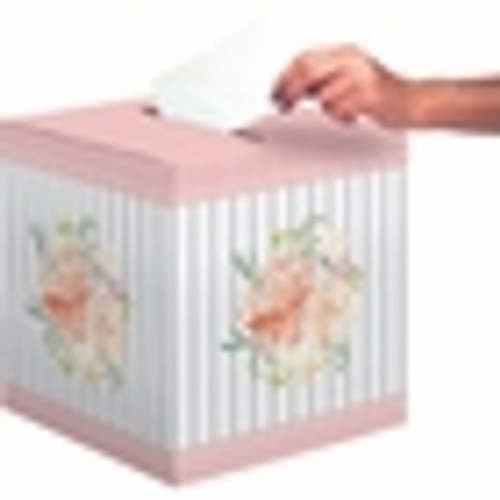 Country Floral Card Box