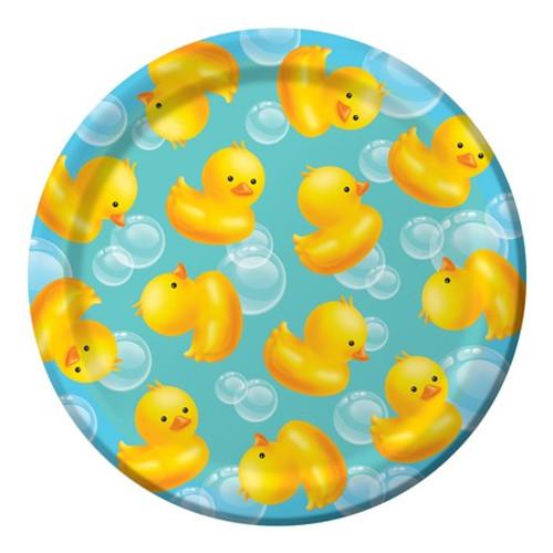 "Bubble Bath Dessert Plates - 7"""