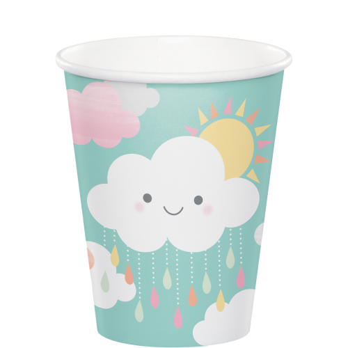 Clouds Baby Shower Cups - 9oz