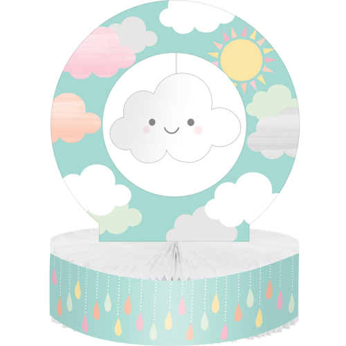 Clouds Baby Shower Centerpiece