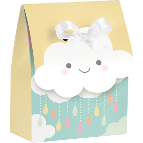 Clouds Baby Shower Favor Boxes
