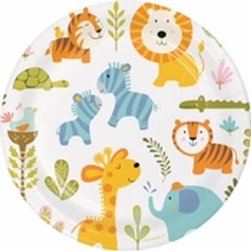 "Happi Jungle Dinner Plates - 9"""