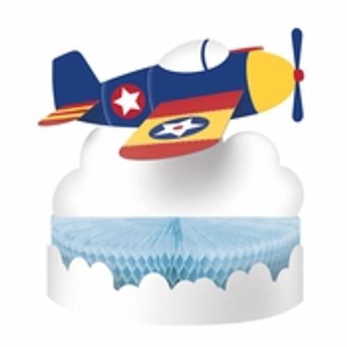 Toy Airplane Centerpiece