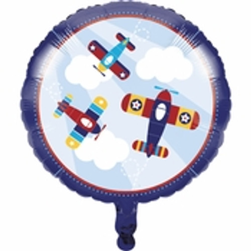 Toy Airplane Mylar Balloon