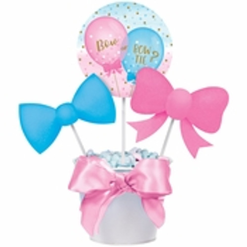 Gender Reveal Balloons DIY Centerpiece Sticks