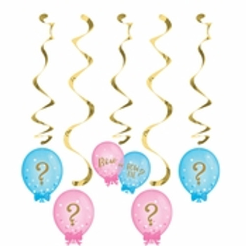 Gender Reveal Balloons Dizzy Danglers