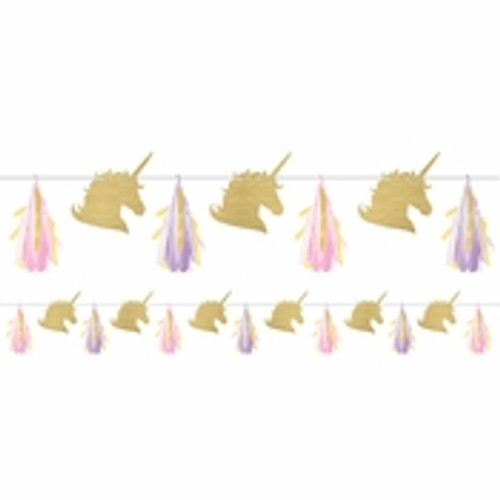 Unicorn Baby Shower Sparkle Garland