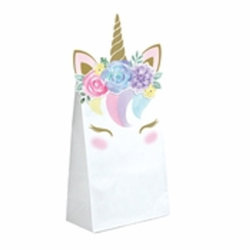 Unicorn Baby Shower Paper Treat Bags