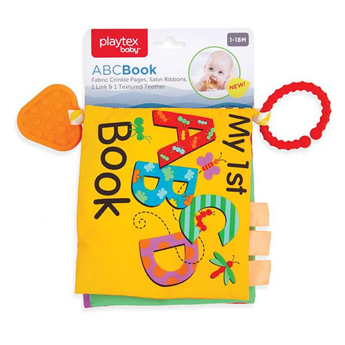 My First ABC Crinkle Book & Teether