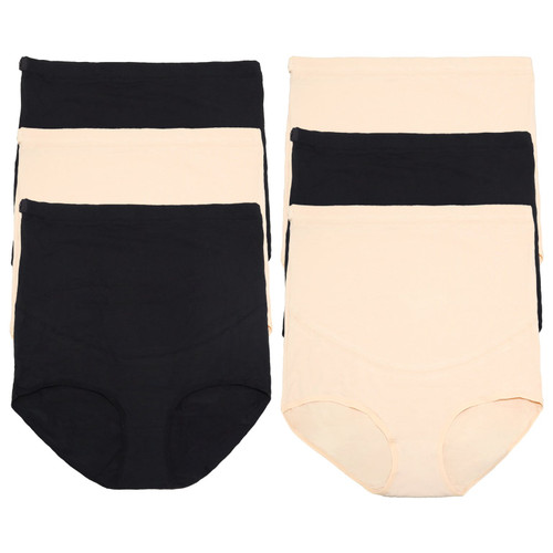 Cotton Over-the-Belly Maternity High Waist Underwear