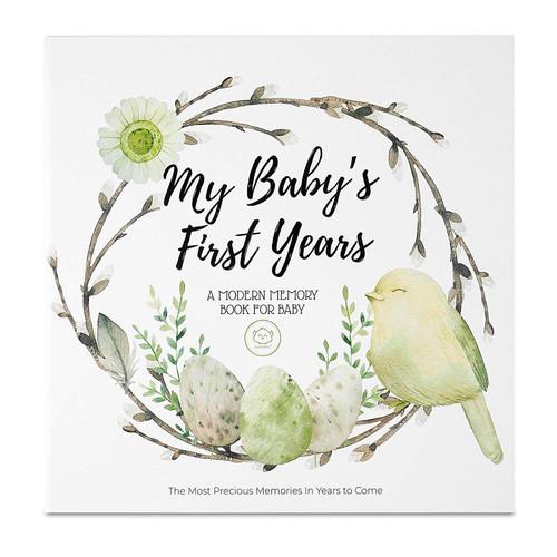 Wonderland Baby Memory Book