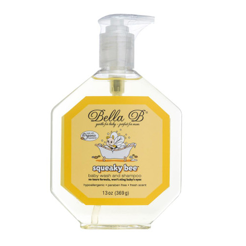 Squeaky Bee Shampoo and Body Wash - 13oz Bottle