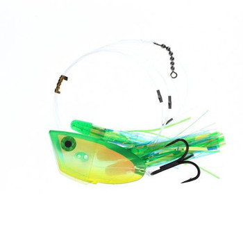 Diabolical Custom Tackle Meat Rig Green Dolphin 1