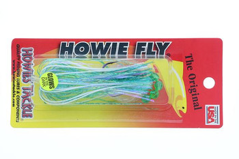 Howie's Tackle Fly Double Aqua Standard
