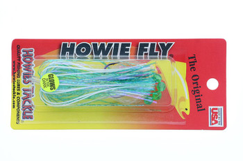 Howie's Tackle Fly Glow Frog Double Aqua Standard