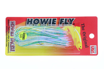 Howie's Tackle Fly Glow Frog Double Frog Standard