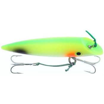 Silver Horde 4'' W/Rattle Glow Yellow Tail