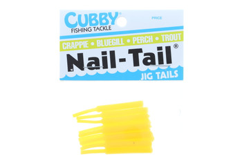 Cubby Nail Tail Yellow 1-3/4''