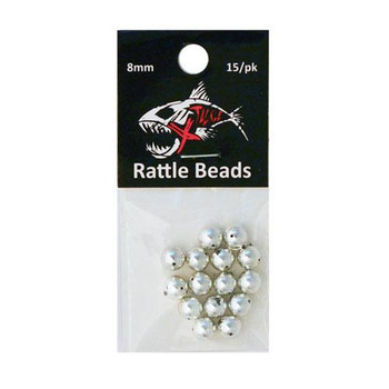 Xtackle Rattle Beads Chrome 8mm