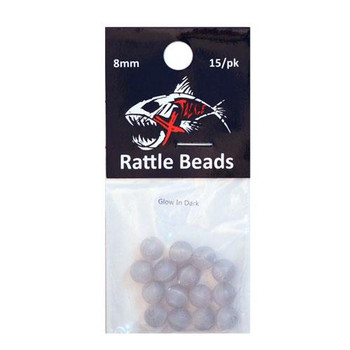 Xtackle Rattle Beads Glow 8mm