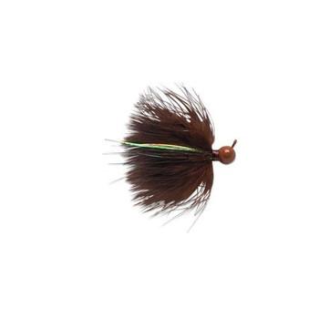 VMC DM Marabou Jigs Brown 1/4