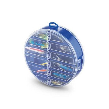 The Solution Round Tackle Storage Blue