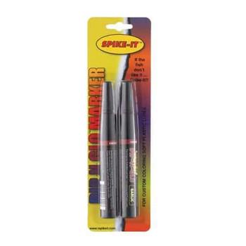 Spike It Marker Pen Set 2 pk Garlic Chart/Red .05 oz