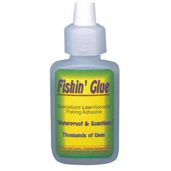 Carlson Tackle Fishin' Glue 1/3 oz Bottle