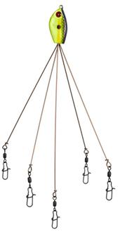 Yumbrella 5-Wire Multi Swimming Rig No Blade Tennessee Special 7 in