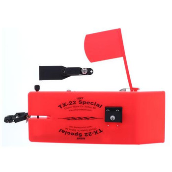 Church Tackle TX-22 Special Board w/Flag Orange Port - Left