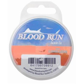 Blood Run Flourocarbon Leader Spool 50 yd 6 lb