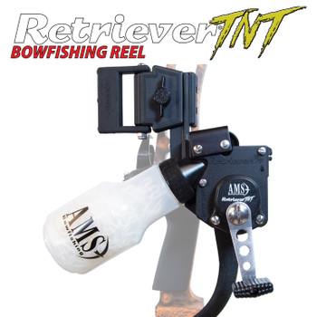 AMS Bowfishing 610 Retriever TNT Tournament Reel LH 350# Line