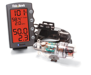 Fish Hawk X4D System Depth and Bluetooth