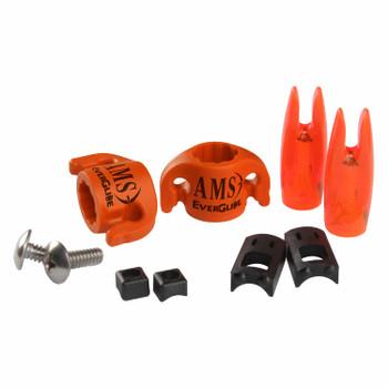 AMS Bowfishing EverGlide Safety Slides Brand Arrow Slides Orange 2 Pk